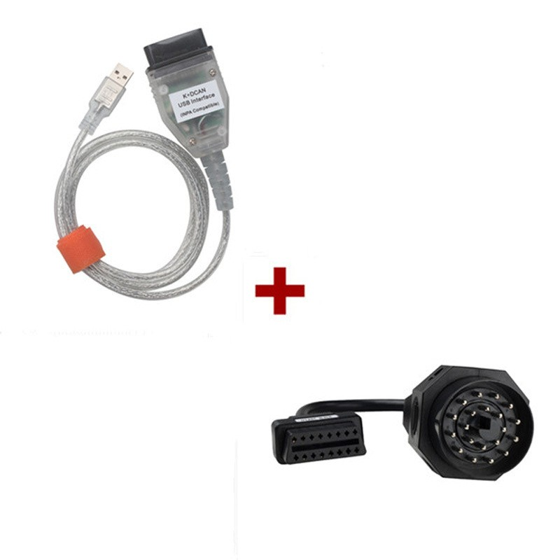 High Quality INPA K+CAN K+DCAN USB Diagnostic Interface For B-M-W INPA OBD2 Cable Ediabas Professional For B-M-W Cars