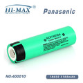 3100mah diving flashlight li-ioh battery 18650 battery electromobile