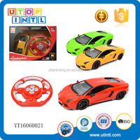 Hot sale,4CH radio control car with light,with charger and gift box packing