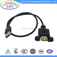 Promotional Customized Length USB 2.0 Shielded High Speed Extension Cable