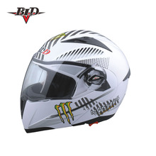 Most Popular Double Visor Flip Front Modular Helmet