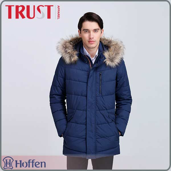 China supply new latest male coat designs long coat for men