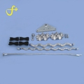 Guilin shihui professional denudeuse opgw ground double suspension clamp