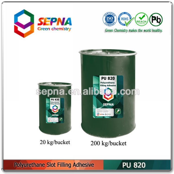 PU820 high quality Single component polyurethane filling adhesive for Cracks repairing on bridges