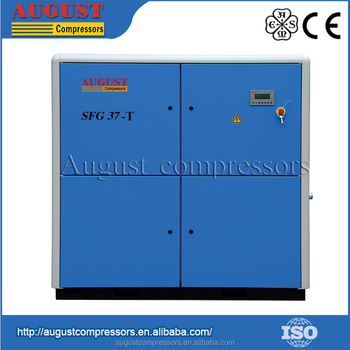 SFG37-T 37KW/50HP 8 BAR variable frequency air cooled screw air compressor