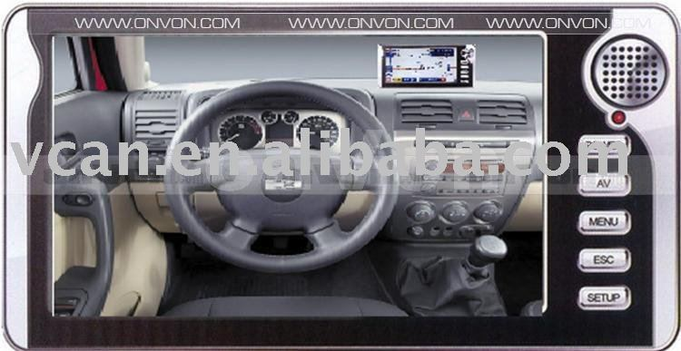 7.0 inch Touch Screen GPS PND