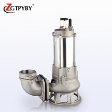 China Manufacturer Stainless Steel Acid Proof Submersible Sewage Water Pump Vortex Pump