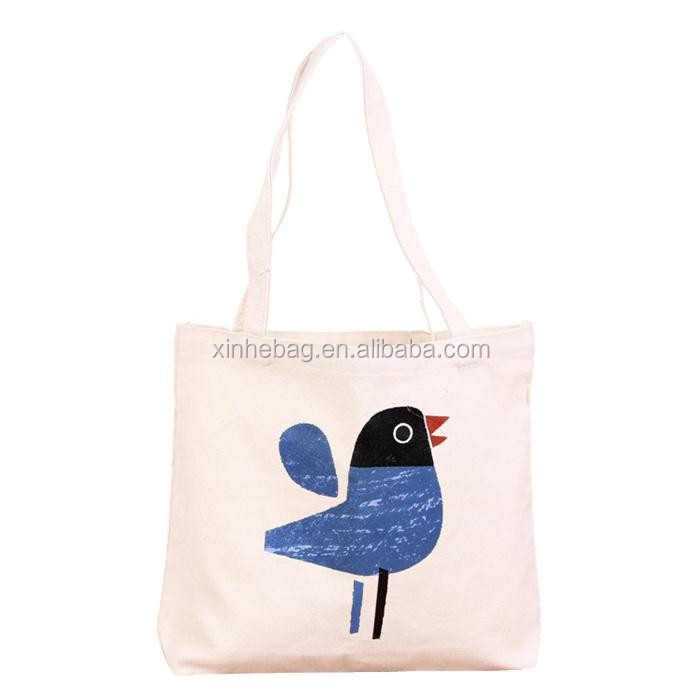 high quality fashion natural value cotton bag