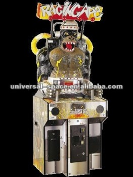Raging Ape amusement game and redemption machine