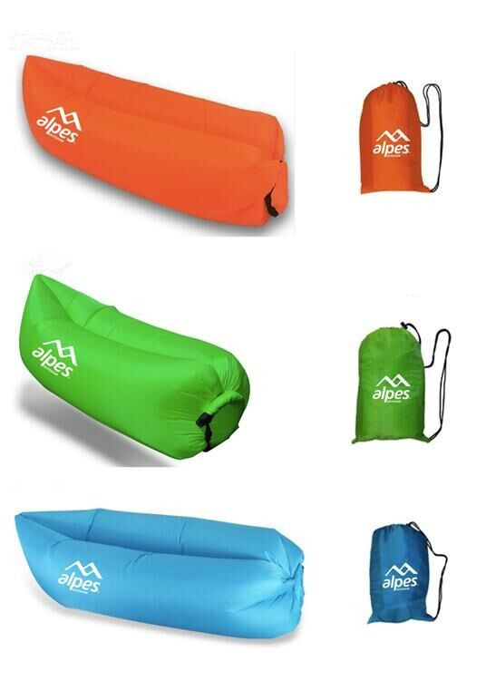 Outdoor Inflatable Air Lounger bed, inflatable sleeping bag, air bag