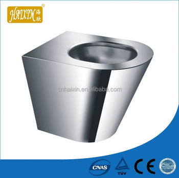 Bathroom Stainless Steel Bathroom Toilet
