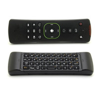 High quality smart air mouse remote with keyboard
