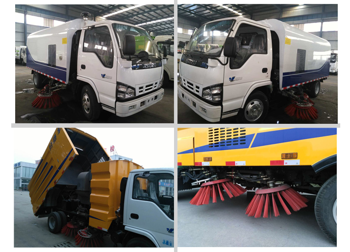 Guaranteed famous brand newest price of vacuum road sweeper truck