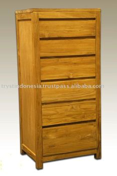 Modern kitchen cabinet made of teak wood buy kitchen for Modern teak kitchen cabinets