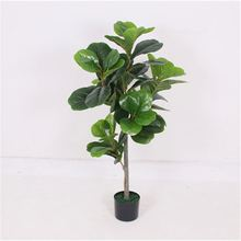 Best prices lively fashion design artificial bonsai 66 leaves 1.1m height artificial tree
