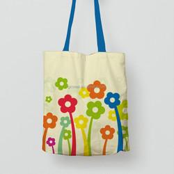 Custom Standard Size Blank Canvas Shopping Tote Bag