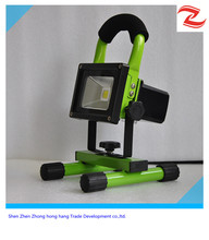 hot sell Portable IP65 rechargeable led floodlight 10W 20W 30w emergency led flood light