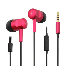 China Name brand with mic headphones earpiece