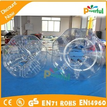 new design crazy amd durable bubble football/inflatable bumper ball/ body zorbing bubble ball for sale