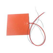 rubber band making machine silicone rubber heater bed infrared heater car heating element