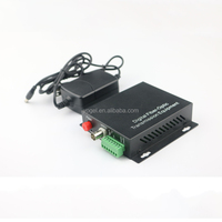 Single core 1 Channel Fiber Optic Required Audio Digital Video Optical Converter