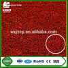 wuxi jiazhou hot selling high abrasive durable natural appearance cheap free maintenance red artificial grass for tennis court