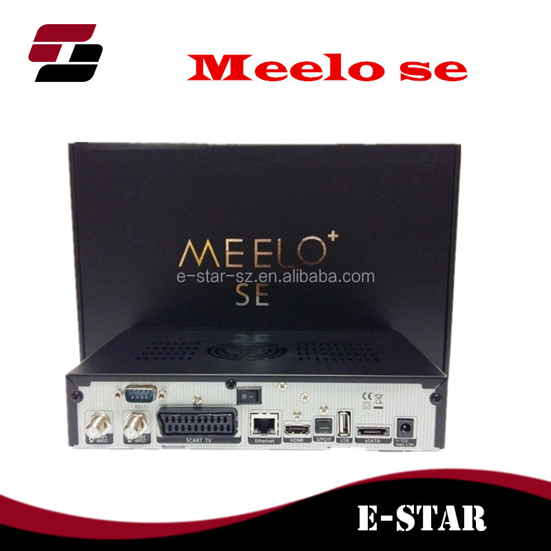 Meelo+ se same as VU SOLO 2 SE Original Software Twin tuner Satellite Receiver Linux 1300 MHz CPU Mini Vu solo2