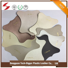 decorative metallic pu leather, PU synthetic leather for wall decoration, home furniture