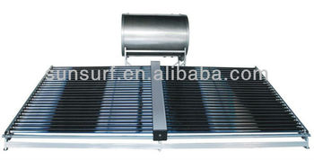 SunSurf New Energy SC-E01 50 tubes two wings non pressure solar collector