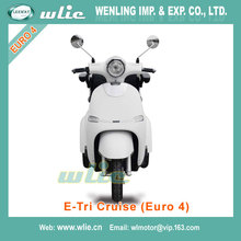 Eco-Friendly cheap scooter for kids price electric motocycle 3 wheel E-Tri Cruise (Euro 4) with EEC COC (800W)