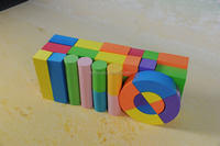 Baby play educational toys colorful plastic EVA blocks non-toxic