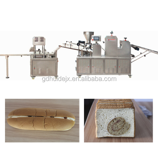 stuffing bun forming machine in bread making production line with PLC