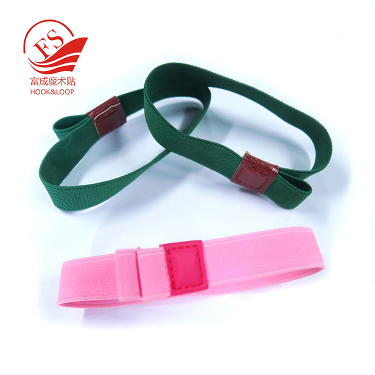 wholesale strong elastic  green pink self heating lunchbox binding strap