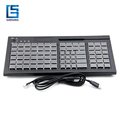 POS Programmable Keyboard(PKB-84)USB keyboard/Keyboard Capable of magnetic card reader and electronic lock