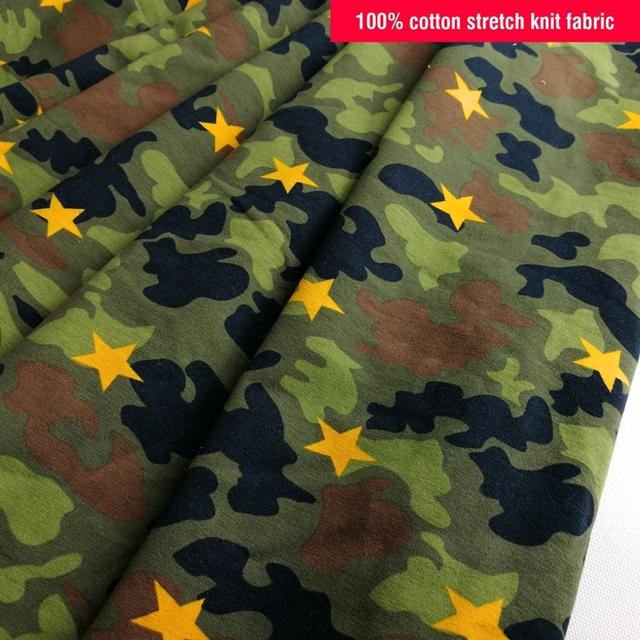 Camouflage Canvas Cotton Woven Micro Twill Fabric