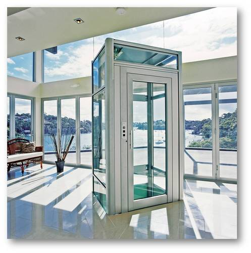 Otse small villa elevator for homes 250kg 3 or 4 person for Small elevators for homes