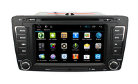 With Dual Core Cpu 1G RAM Capacitive Screen 3G internal Wifi for Skoda Octavia Android 4.2.2 autoradio with gps