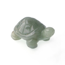 "New Design Gemstone Carved Animal Turtle Pendant 0.75"" Jewellery Wholesale"