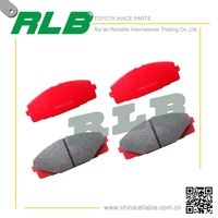 cheapest toyota hiace brake pad make in china