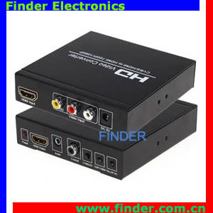 1080p high Quality av/RCA to hdmi converter for 1080p HDTV