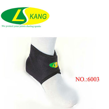L/Kang Colored Elastic Ankle Support,Waterproof Neoprene