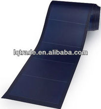 136 W /33 V Thin film flexible laminated amorphous solar panel-triple junction solar cell, polymer laminated