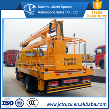 Famous Brand Dongfeng 12m mini bucket truck sale