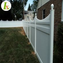 Cheap Pvc Temporary Portable Vinyl Picket Top Privacy Fence