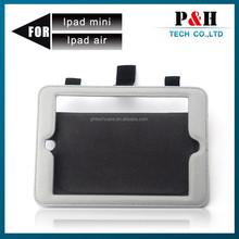 4400ma/h Lithium Battery car backseat solar charger cases for ipad2