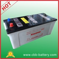 dry charge 150ah 12V truck battery N150