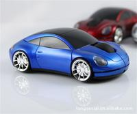 Car shaped optical computer wireless mouse