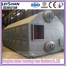 Paper making steam boiler for heating dryer cylinder