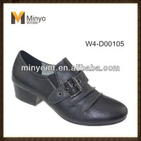 Minyo pu low heel comfort shoes for women china high quality