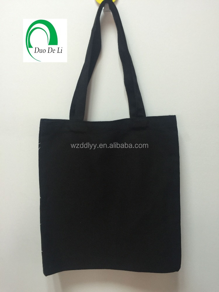 Blank Cotton road tote cotton canvas Bag